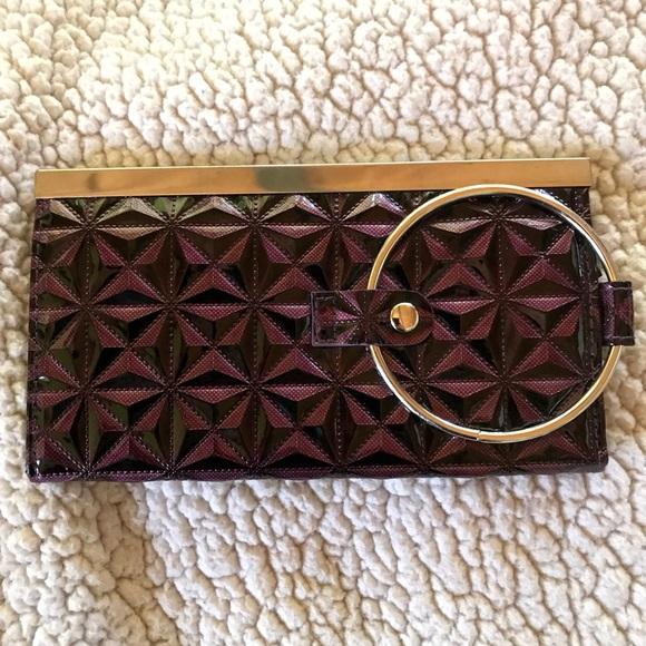 Handbags - Quilted Purple Wallet/Wristlet